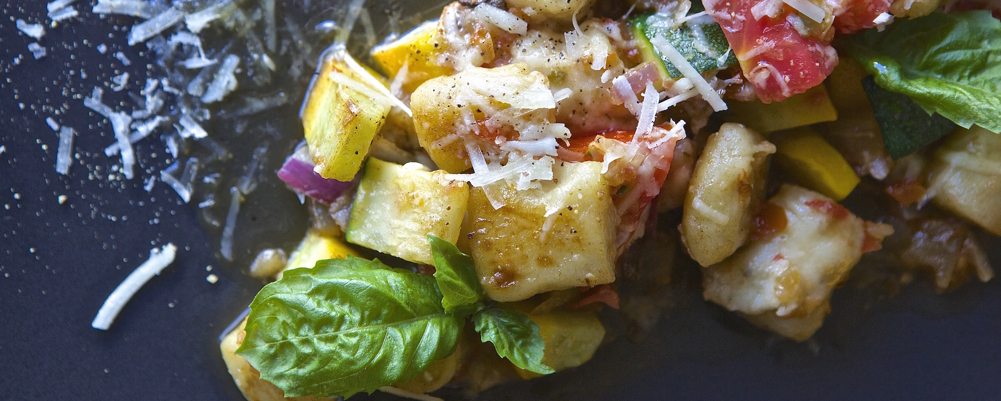 Gnocchi with Four J Vegetable Bolognese